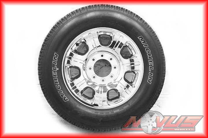 "2012 20"" Ford F250 Suderduty King Ranch Chrome Clad Wheels Tires 18"