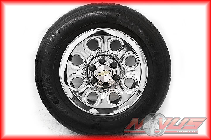17 GMC Sierra Chevy Silverado Tahoe Wheels Tires 18 16
