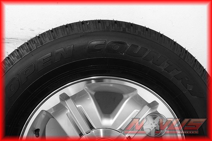 New 18 quot chevy tahoe silverado z71 gmc yukon sierra oem wheels tires 17 20
