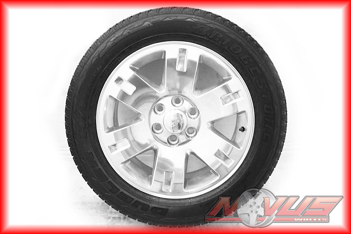20 GMC Yukon Sierra Denali Chevy Tahoe Silverado Polished Wheels