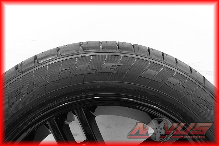 New 20 Ford F150 Harley Davidson Black Wheels Rims Goodyear Tires 18