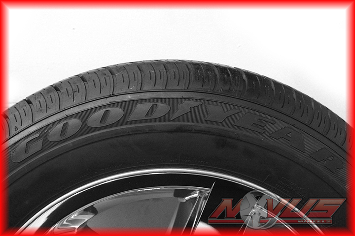 "20"" Dodge RAM 1500 Bighorn Durango Chrome Factory Wheels Goodyear Tires 18"