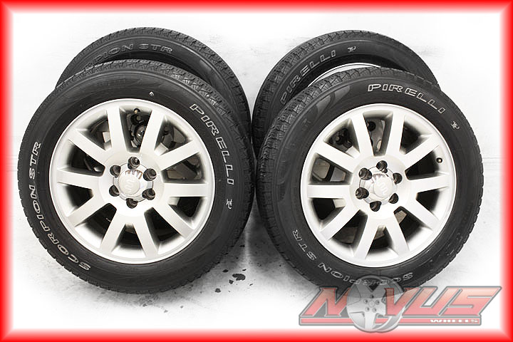 "20"" Ford F150 King Ranch Expedition Wheels Pirelli Tires 18 22 Gold Tone"
