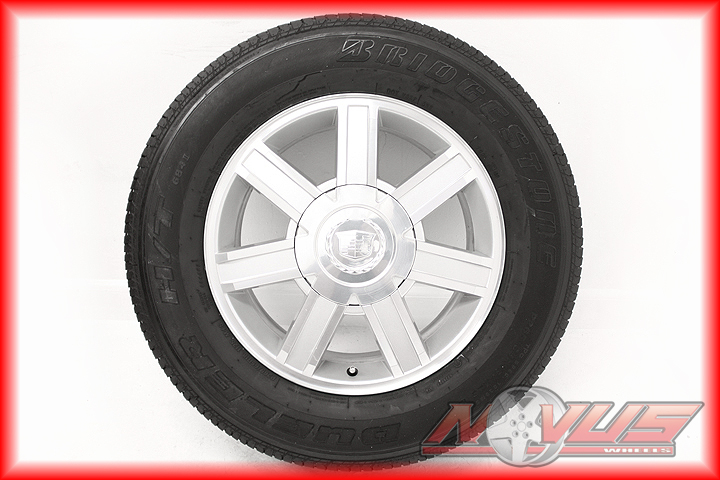 Escalade Chevy Tahoe GMC Yukon Sierra Wheels Tires 17 20 22 GM