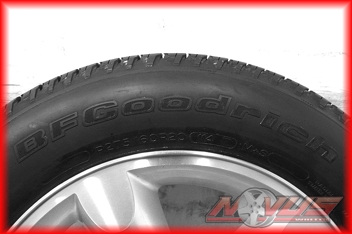 "20"" Dodge RAM Bighorn Durango Factory Painted Wheels Tires"