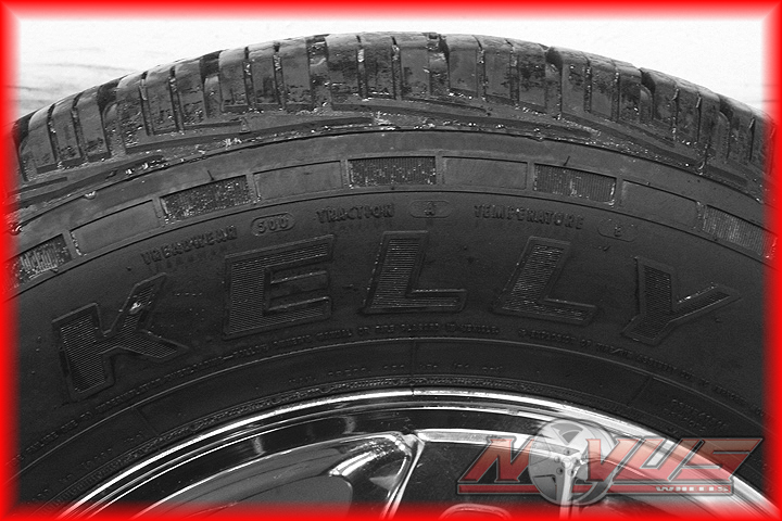 "18"" Chevy Tahoe Silverado Z71 GMC Sierra Yukon Chrome Wheels Tires 16 17 20"