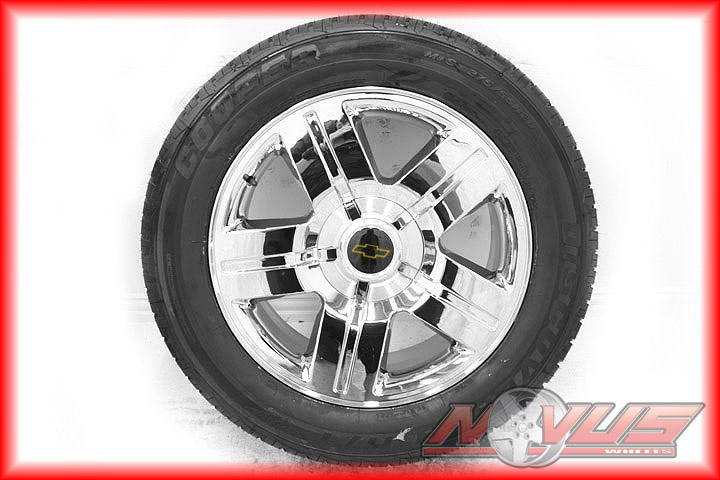 New 20 Chevy Silverado Tahoe LTZ Chrome GMC Yukon Sierra Wheels