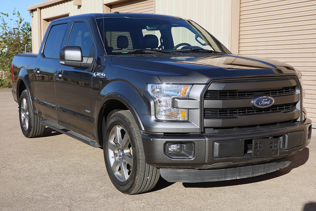 2015 ford f 150 lariat crew cab pickup 4 door ebay. Black Bedroom Furniture Sets. Home Design Ideas