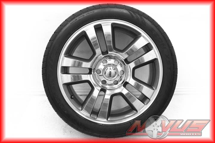 "22"" Ford F150 Pickup Harley Davidson Expedition Wheels Pirelli Tires 20"