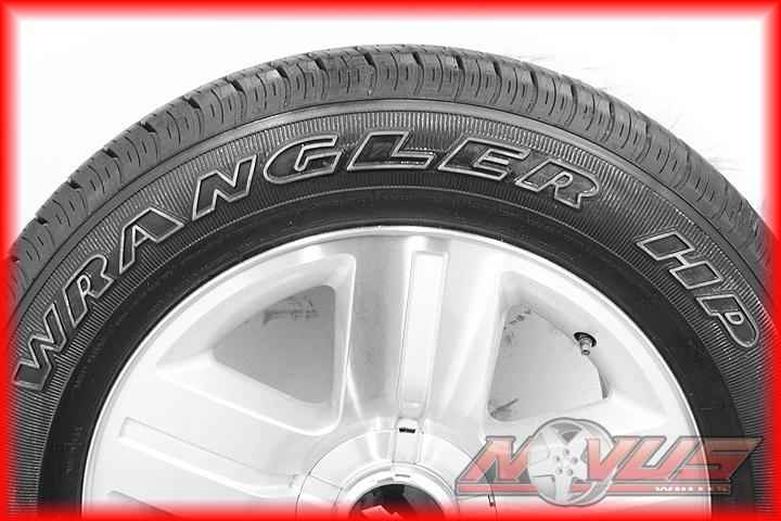 "20"" Chevy Silverado LTZ Tahoe Machined Wheels Goodyear Tires Factory GM 18"