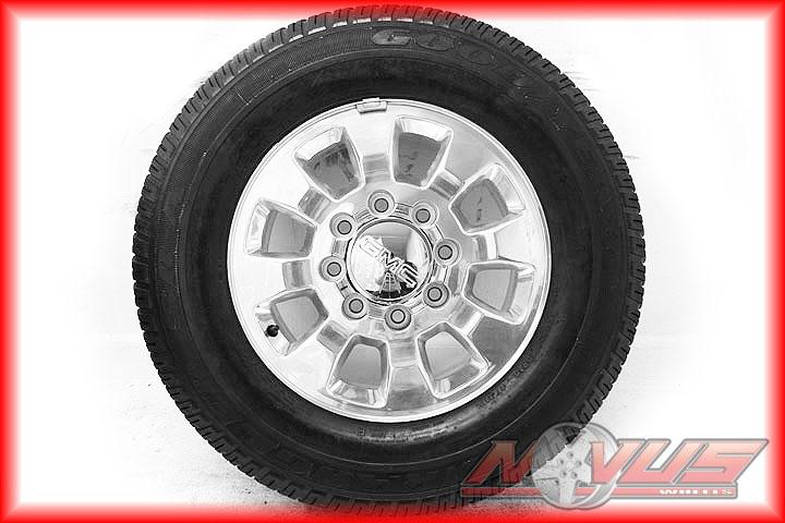 18 GMC Sierra Chevy Silverado 2500 3500 Factory Wheels Tires 20 2011