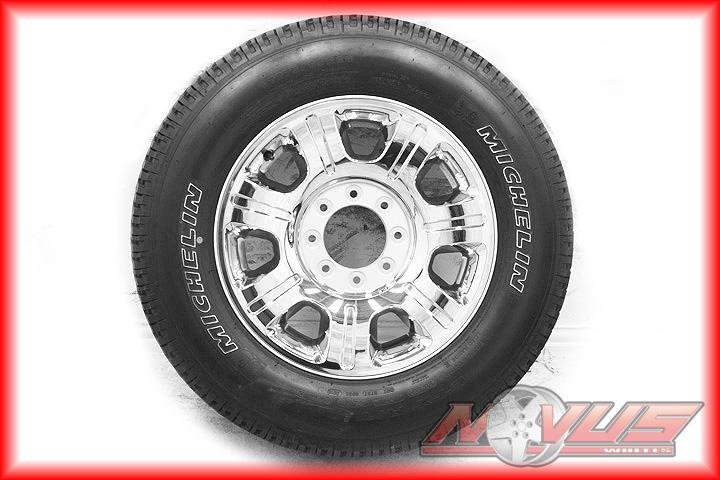 "2012 20"" Ford F250 Suderduty King Ranch Chrome Clad Wheels Tires 18"