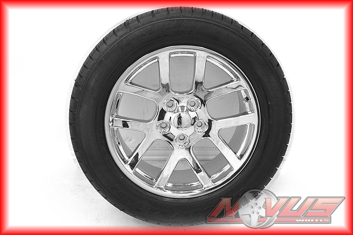 "New 20"" Dodge RAM SRT 10 Durango Chrome Wheels Goodyear Tires 22 18"