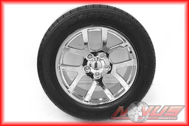 "New 20"" Dodge RAM SRT 10 Durango Chrome Wheels Goodyear Tires 22 18"