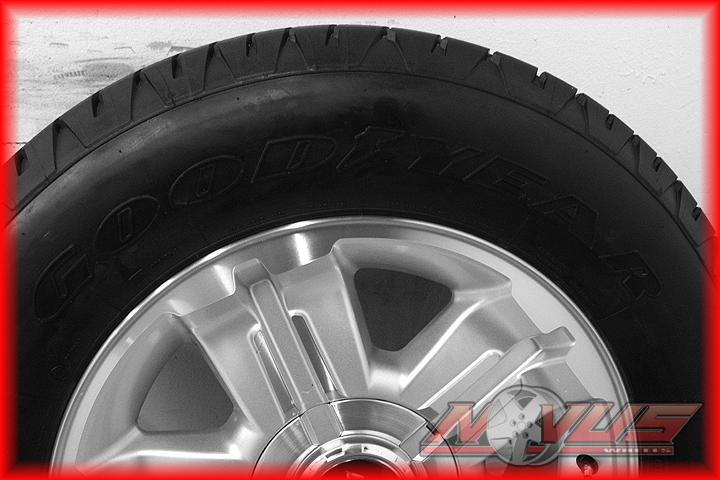 "18"" Chevy Silverado Z71 Tahoe GMC Yukon Sierra Wheels Goodyear Tires 20 17"