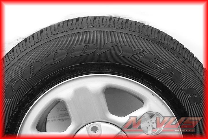 16 Jeep Wrangler Grand Cherokee Factory Steel Wheels Goodyear Tires