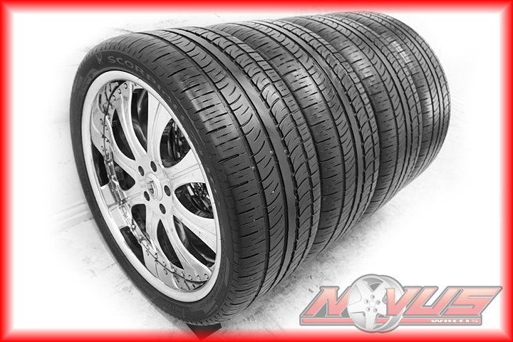 Luxury Chrome Land Rover Freelander Wheels Tires 20 24 18