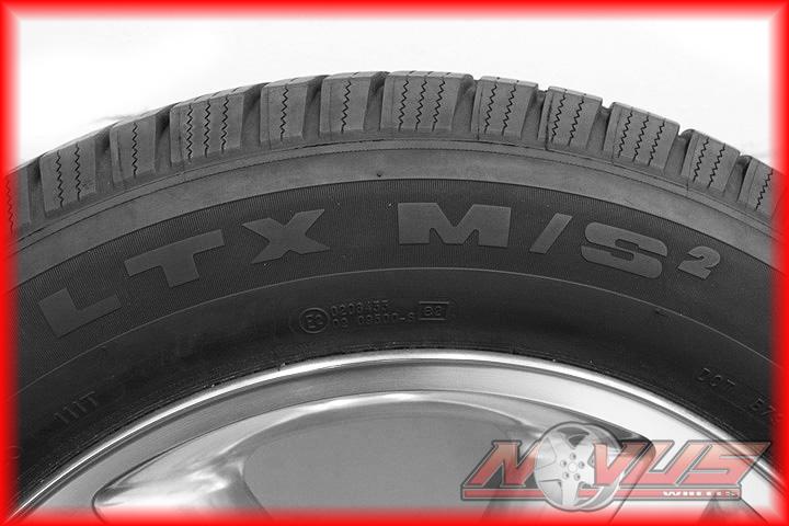20 Chevy Tahoe LTZ Silverado Polished Avalanche Wheels Michelin Tires