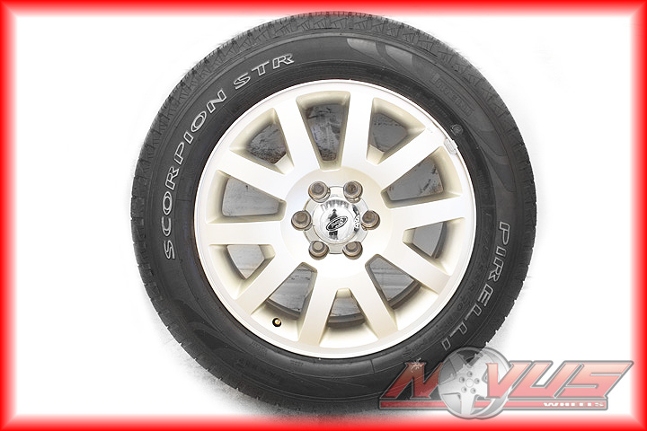 """20"""" Ford F150 King Ranch Expedition Wheels Pirelli Tires 18 22 Gold Tone"""
