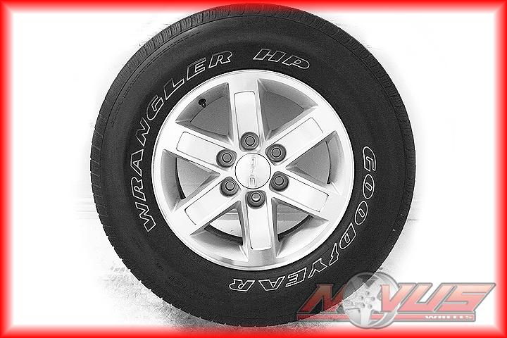 Yukon Sierra Chevy Tahoe Silverado Avalanche Wheels Tires 18 16