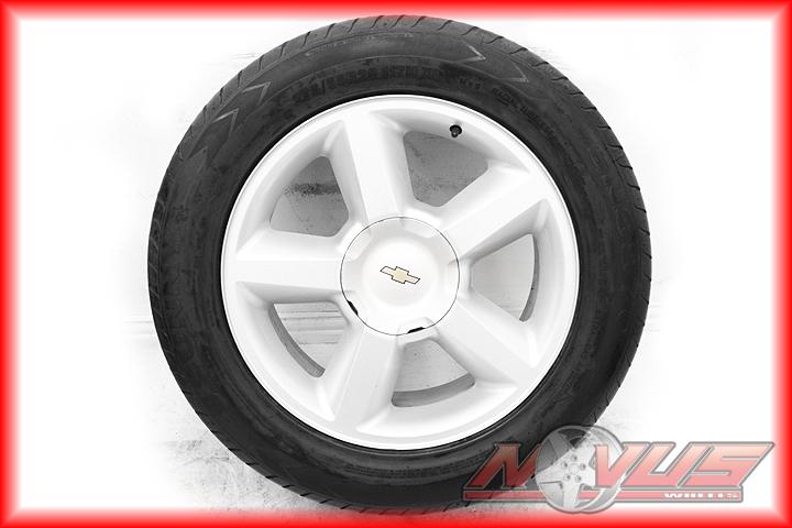 20 Chevy Tahoe LTZ Silverado Wheels Tires Yukon