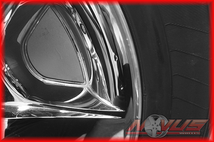 "20"" Chevy Silverado LTZ Tahoe Chrome Clad Wheels Goodyear Tires Yukon 22 18"