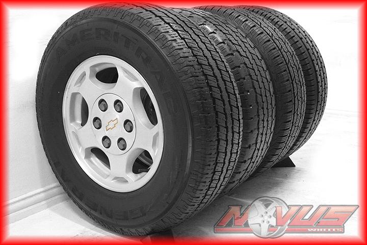 Chevy Silverado Tahoe GMC Sierra Yukon Alloy Wheels Tires 17 18