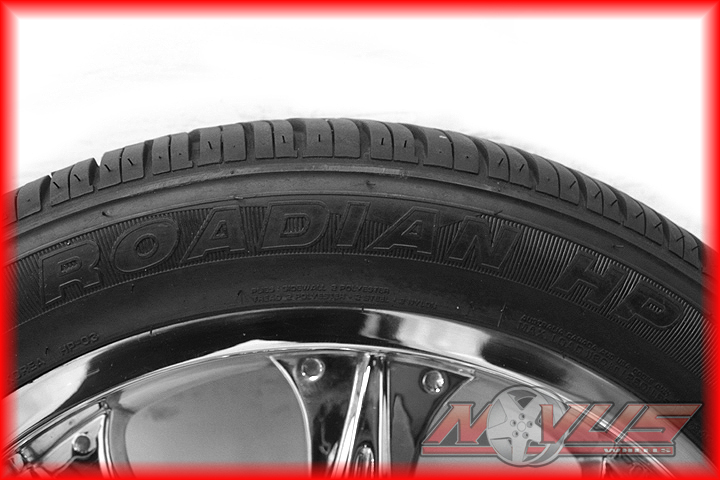 """22"""" Chrome Ford F150 Expedition Lincoln Navigator Blackwood Wheels Tire 20 24 18"""