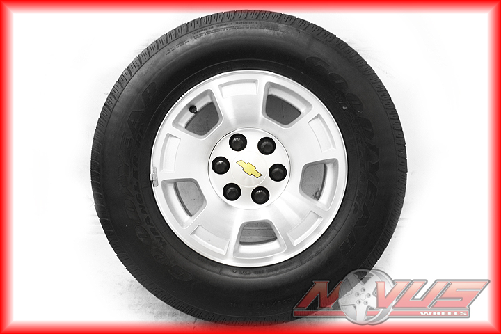 17 Chevy Tahoe Avalanche Sierra Silverado Wheels Tires