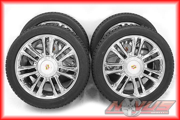 Escalade Platinum Chrome Wheels Bridgestone Tire 20 Tahoe Yukon