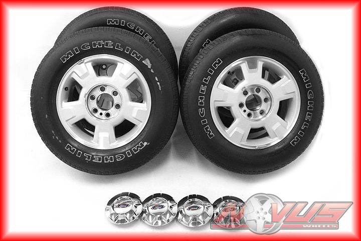 """17"""" Ford F150 Expedition FX4 FX2 Factory Wheels Michelin Tires 18 20"""