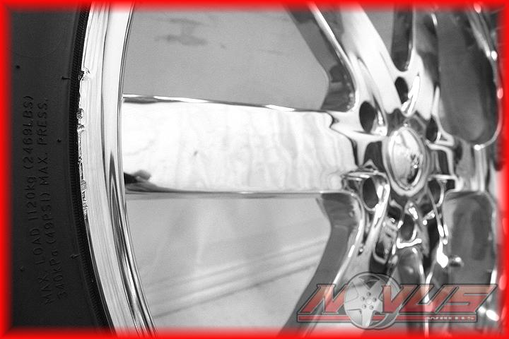 """24"""" U2 55S B Chrome Custom Wheels Tires Chevy Tahoe Silverado GMC Yukon 6x139 7"""