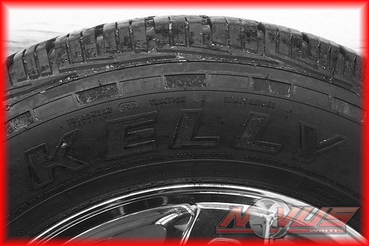 "18"" Chevy Tahoe Silverado Z71 GMC Sierra Yukon Chrome Wheels Tires 16 17 20"