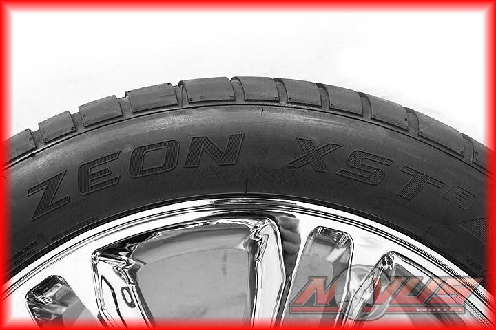 Escalade Platinum Chrome Wheels Tires Chevy Tahoe GMC Denali 20