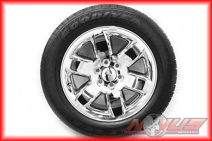 20 GMC Yukon Denali Tahoe Silverado Rims Wheels Tires