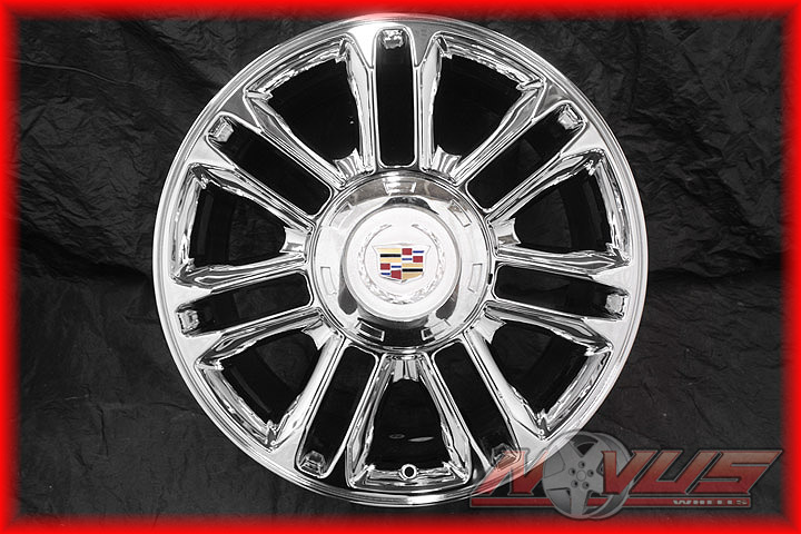 20 CADILLAC ESCALADE PLATINUM CHROME WHEELS TIRES 22