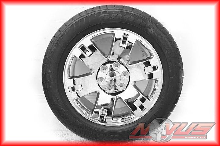 Denali Sierra Chevy Tahoe Silverado Chrome Wheels Tires 22 18