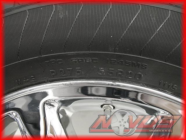 20 GMC Yukon Sierra Denali Chevy Tahoe Silverado Chrome Wheels Tires